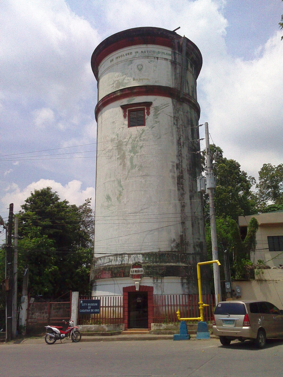 Sights & Sounds of Cagayan de Oro - City Museum and Water Tower Image: M FPoblete