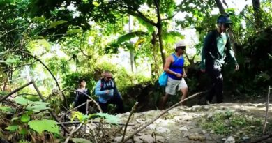 Sights & Sounds of Cagayan de Oro - Trekking and adventures at Malumot Falls in Barangay Tablon