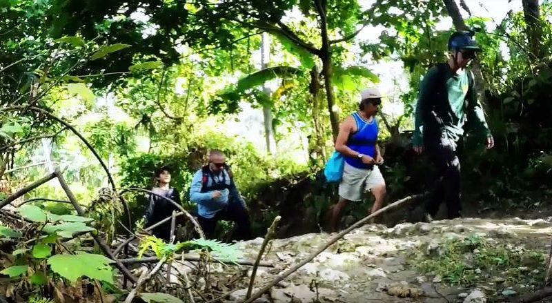 Sights & Sounds of Cagayan de Oro - Trekking and adventures at Malumot Falls in Barangay Tablon