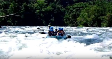 Sights & Sounds of Cagayan de Oro - White Water Rafting auf dem Cagayan River