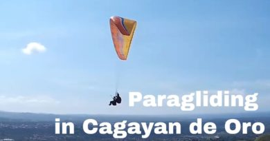 Sights & Sounds of Cagayan de Oro City - Paragliding at Hugo Sky Lounge in Indahag