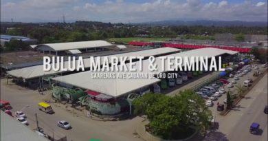 Sights & Sounds of Cagayan de Oro City - Bulua Bus Terminal & Vegetable Landing
