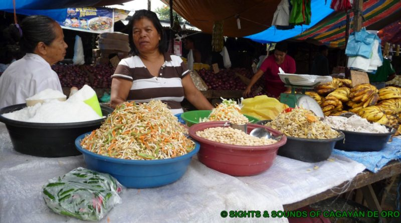 Sights and Sound of Northern Mindanao - Images of the Street Market at the Public Market in Malaybalay Image: Sir Dieter Sokoll KR