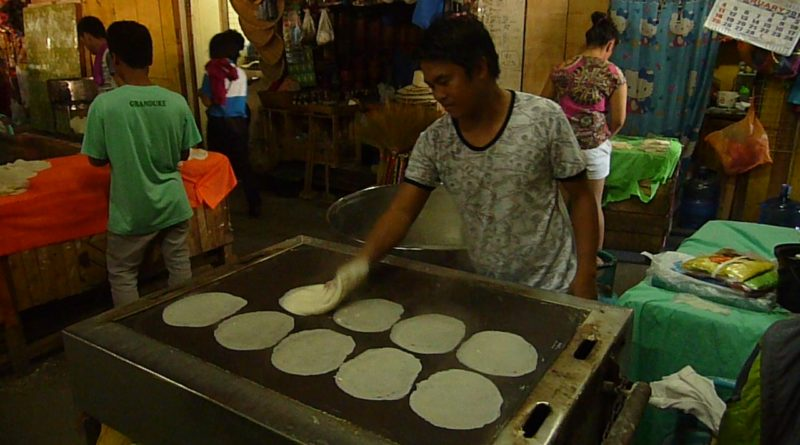 Sights and Sounds of Cagayan de Oro City - Lumpia Wrapper Makers at Cogon Market Image: Sir Dieter Sokoll KR