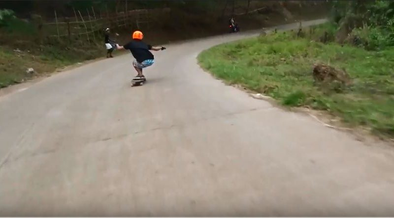 Sights and Sounds of Cagayan de Oro City - Longboard Run in Gusa in Mountain Meadow