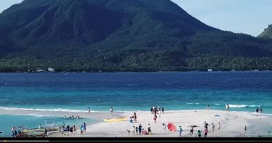 SIGHTS & SOUNDS OF NORTHERN MINDANAO - White Island at Camiguin from Above