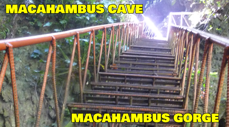 SIGHTS & SOUNDS OF CAGAYAN DE ORO - Macahambus Cave and Macahambus Gorge in Barangay Lumbia Images & Video: Sir Dieter Sokoll KR