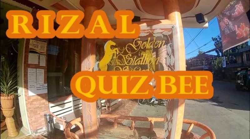 Rizal Quiz Bee