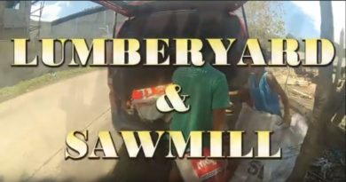 SOUNDS & SIGHTS OF CAGAYAN DE ORO - Lumberyard & Sawmill Photo + Video by Sir Dieter Sokoll