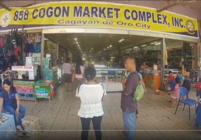 SIGHTS & SOUNDS OF CAGAYAN DE ORO & NORTHERN MINDANAO - COGON - The Market - One Photo & Video by Sir Dieter Sokoll