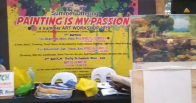 SIGHTS & SOUNDS OF CAGAYAN DE ORO CITY - Summer Painting Workshop at LKK Photo by Hermann Matthias