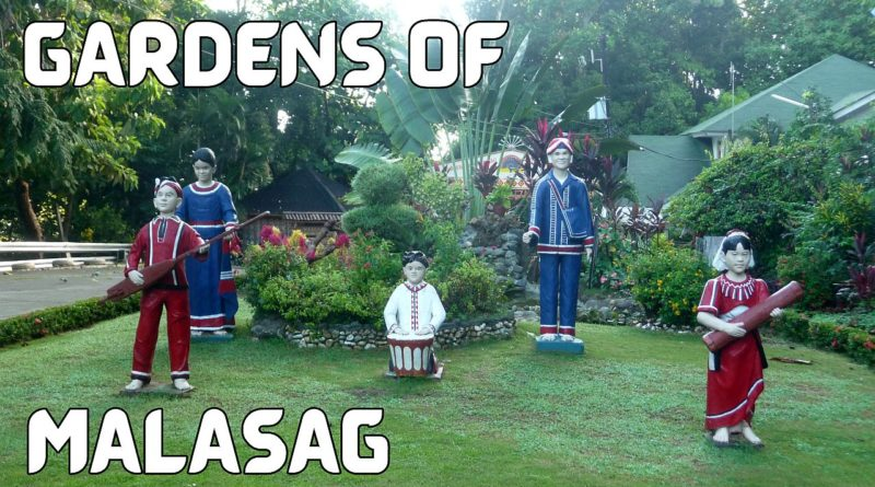 SIGHTS & SOUNDS OF CAGAYAN DE ORO CITY - Gardens of Malasag Photo and Video by Sir Dieter Sokoll