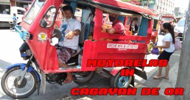 SIGHTS OF CAGAYAN DE ORO CITY & NORTHERN MINDANAO - Motorelas in Cagayan de Oro City Photo + Video by Sir Dieter Sokoll for PHILIPPINE MAGAZIN
