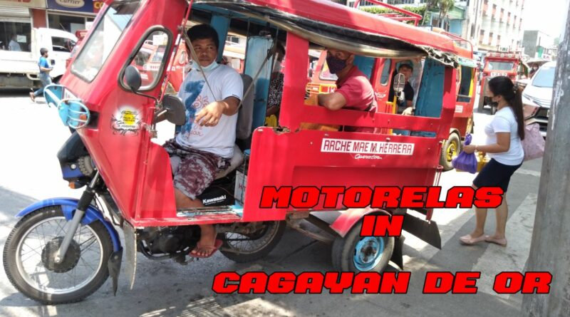 SIGHTS OF CAGAYAN DE ORO CITY & NORTHERN MINDANAO - Motorelas in Cagayan de Oro City Photo + Video by Sir Dieter Sokoll for PHILIPPINE MAGAZIN
