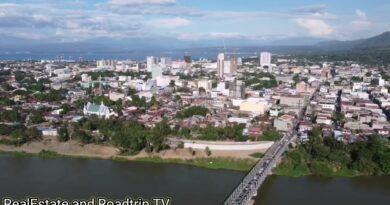 SIGHTS OF CAGAYAN DE ORO CITY & NORTHERN MINDANAO - Aerial view of Cagayan River
