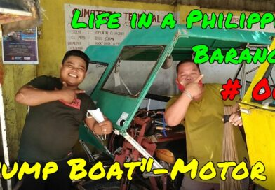 SIGHTS OF CAGAYAN DE ORO & NORTHTERN MINDANAO - Life in a Philippinen Barangay 007 - Pump Engine Motor Photo & Video by Sir Dieter Sokoll